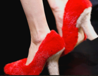 fur pumps
