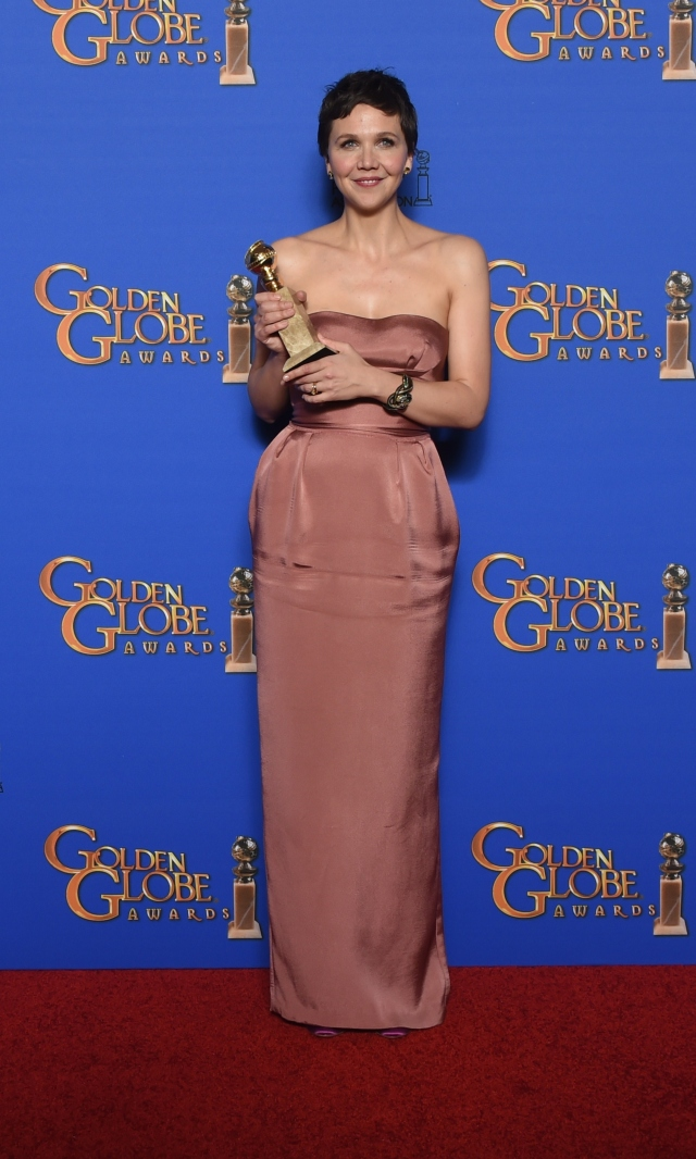 US- ENTERTAINMENT-GOLDEN-GLOBE-PRESS-ROOM