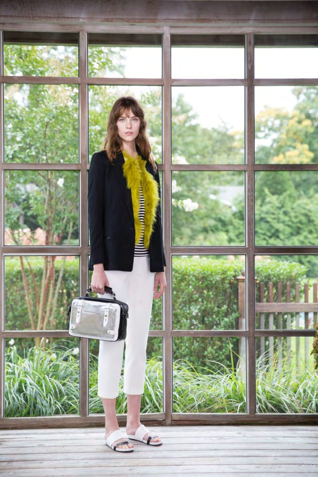 Etienne Aigner's spring 15 collection